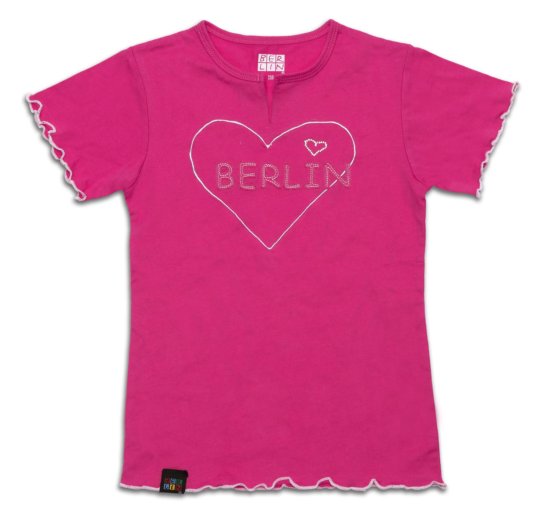 010-2943 Girly TS BERLIN Patch-pink