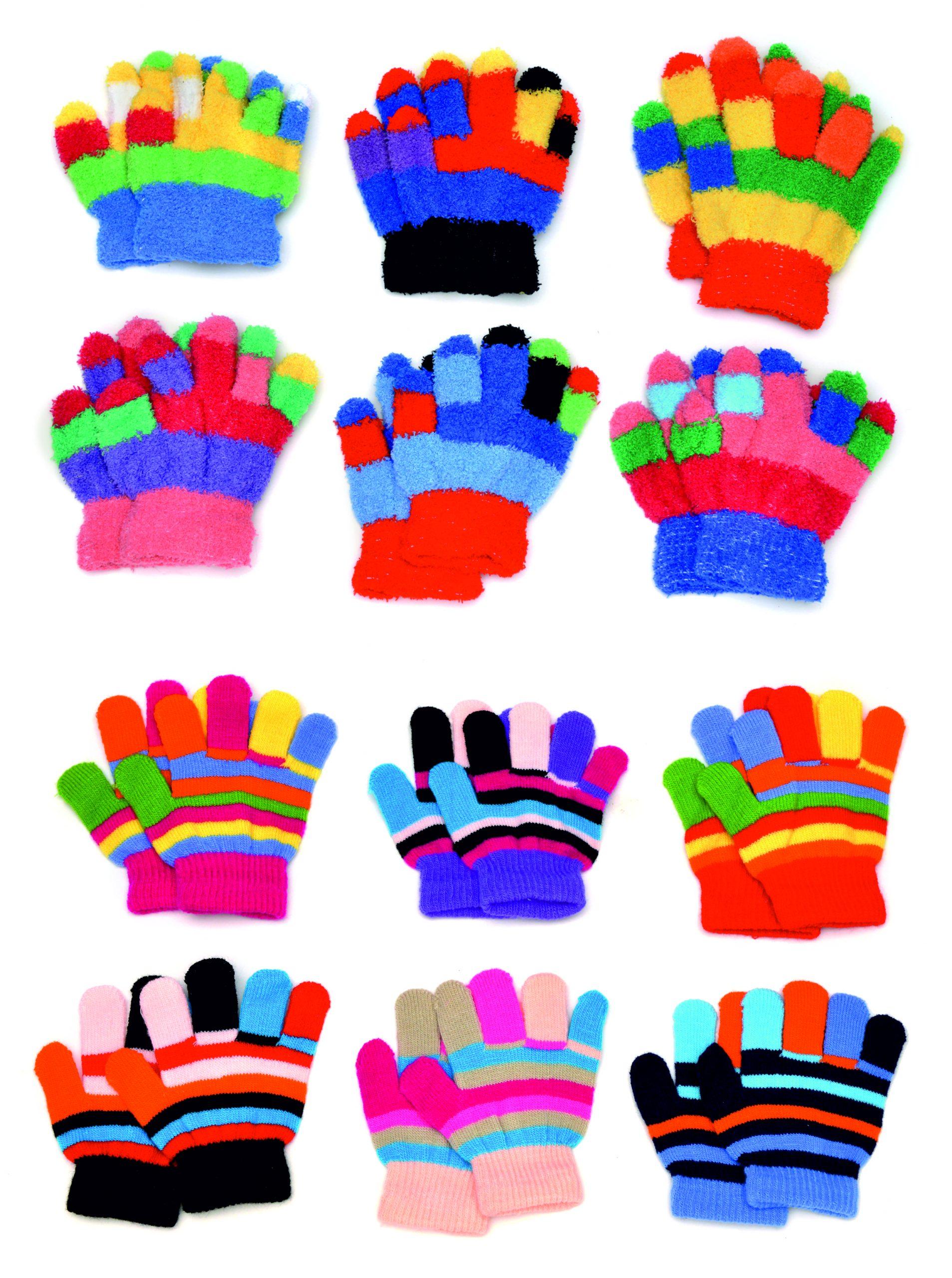 010-7021 Kinder Handschuhe Berlin Mix