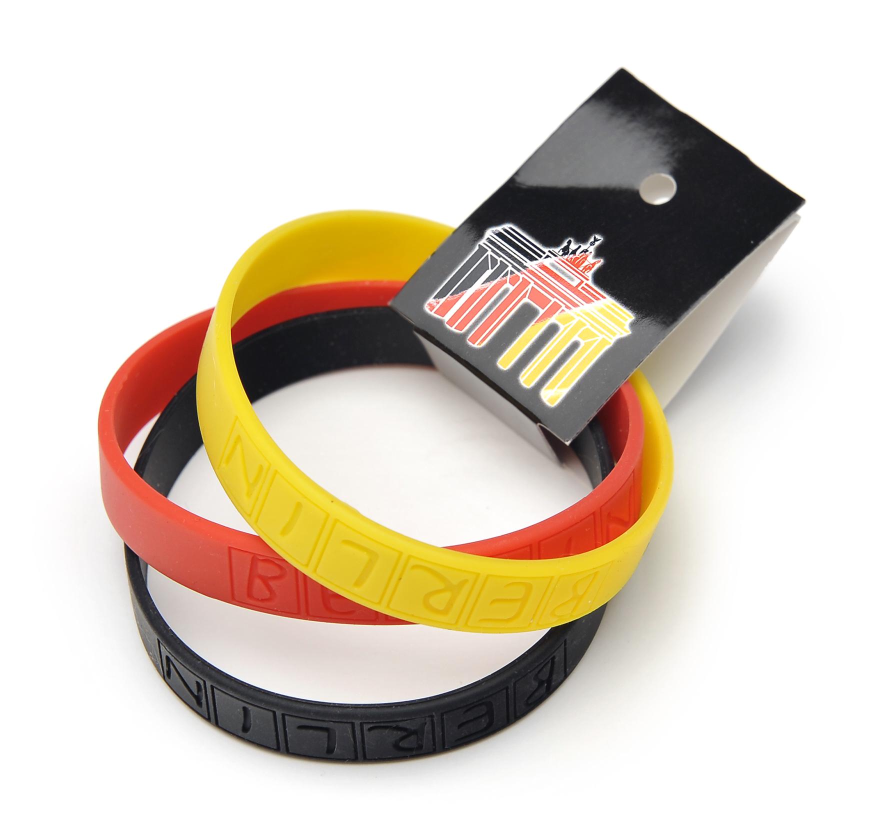 100-1010_Armband-Set_schwarz-rot-gold