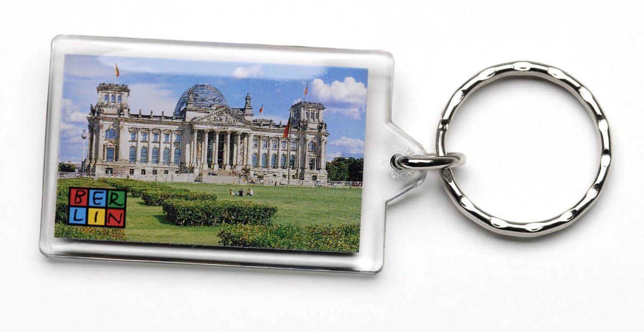 050-1003 Schlüsselanhänger Reichstag Acryl