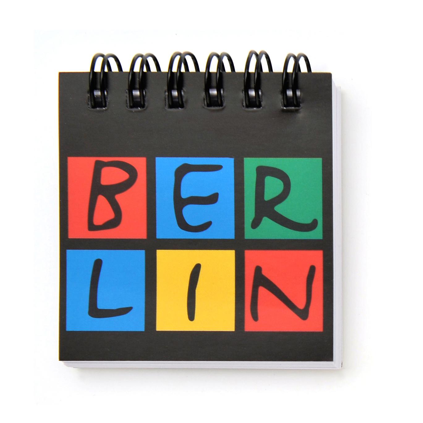 050-0055 Magnet Schreibblock BERLIN