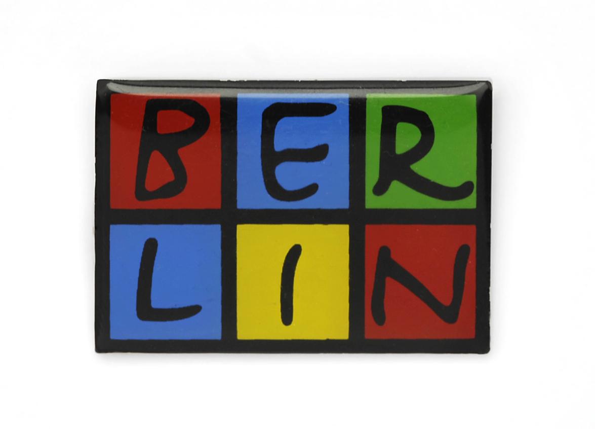 050-0009 Magnet BERLIN Metall