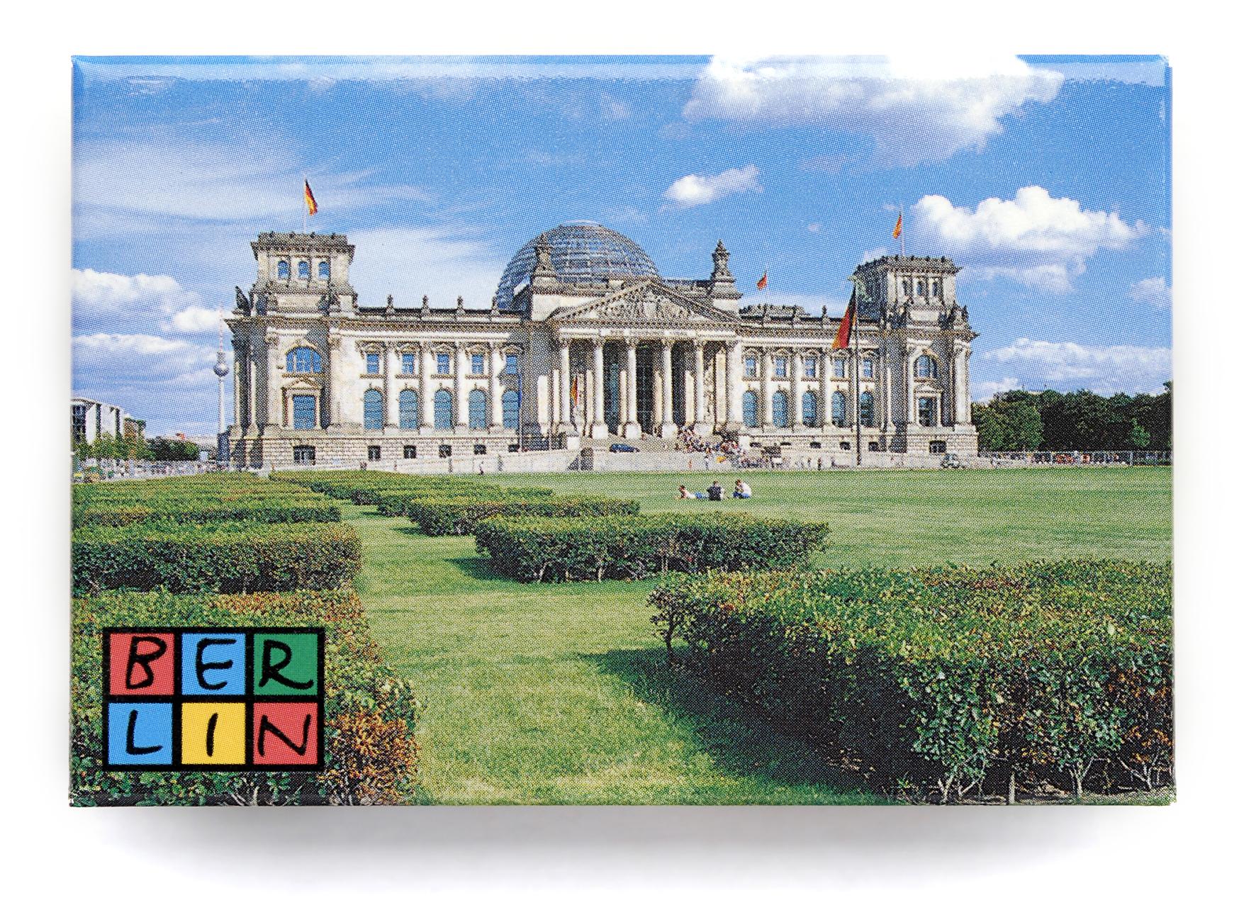 050-0024 Magnet, Reichstag