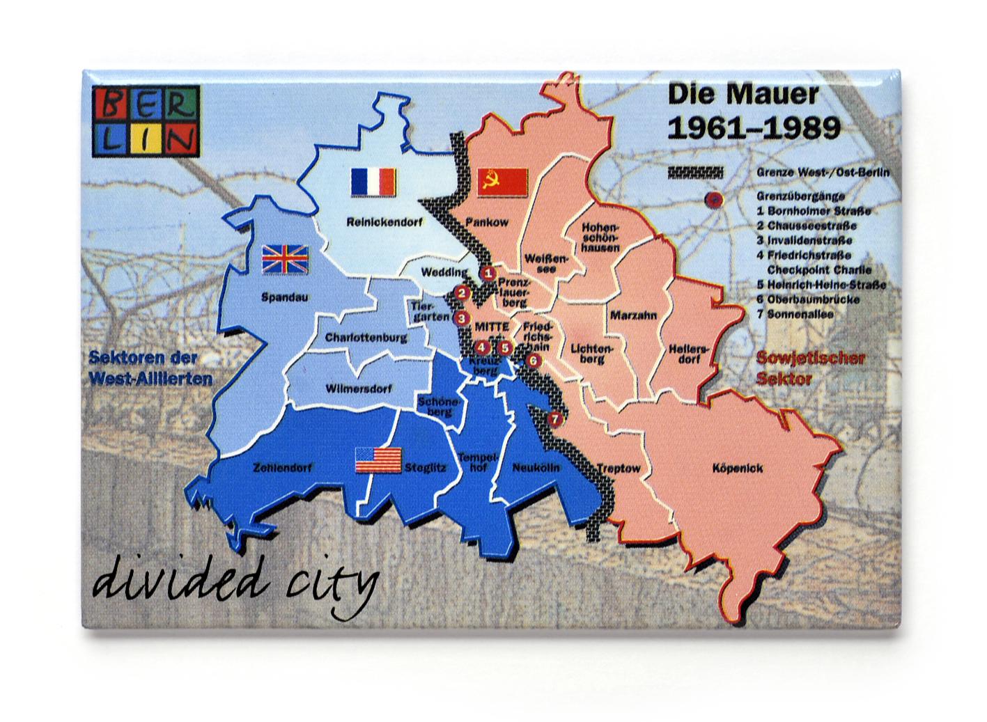 050-0032 Magnet, Divided City