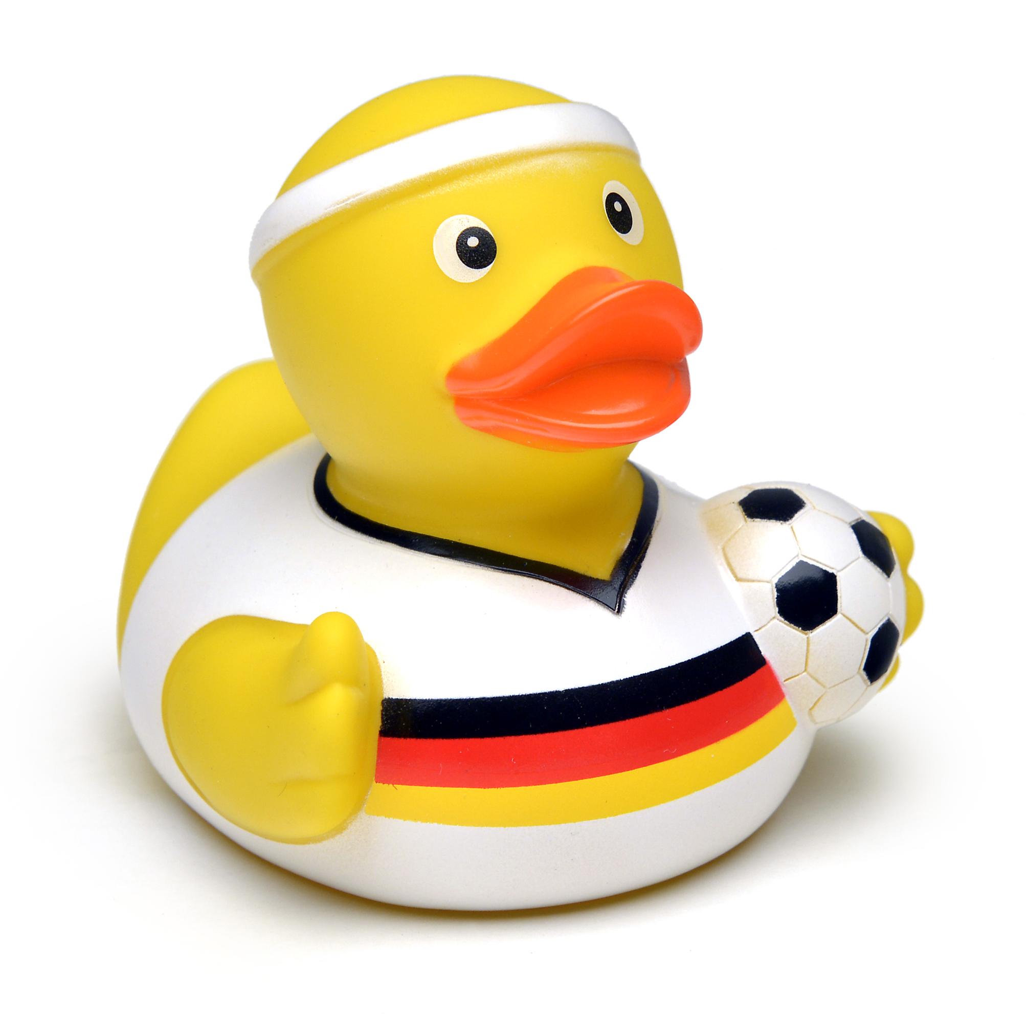 100-0010_Fussball_Deutschland_Ente_weisses-Tr
