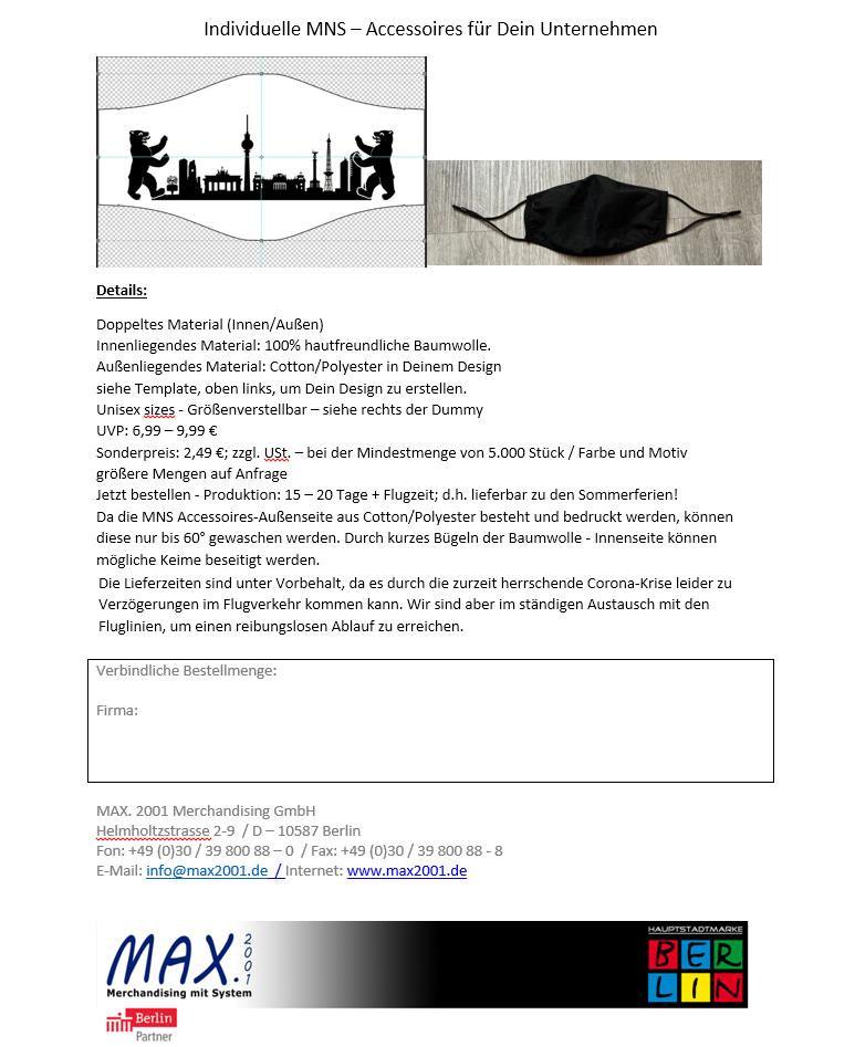 MNS - Accessoires für Dein Unternehmen_Screenshot