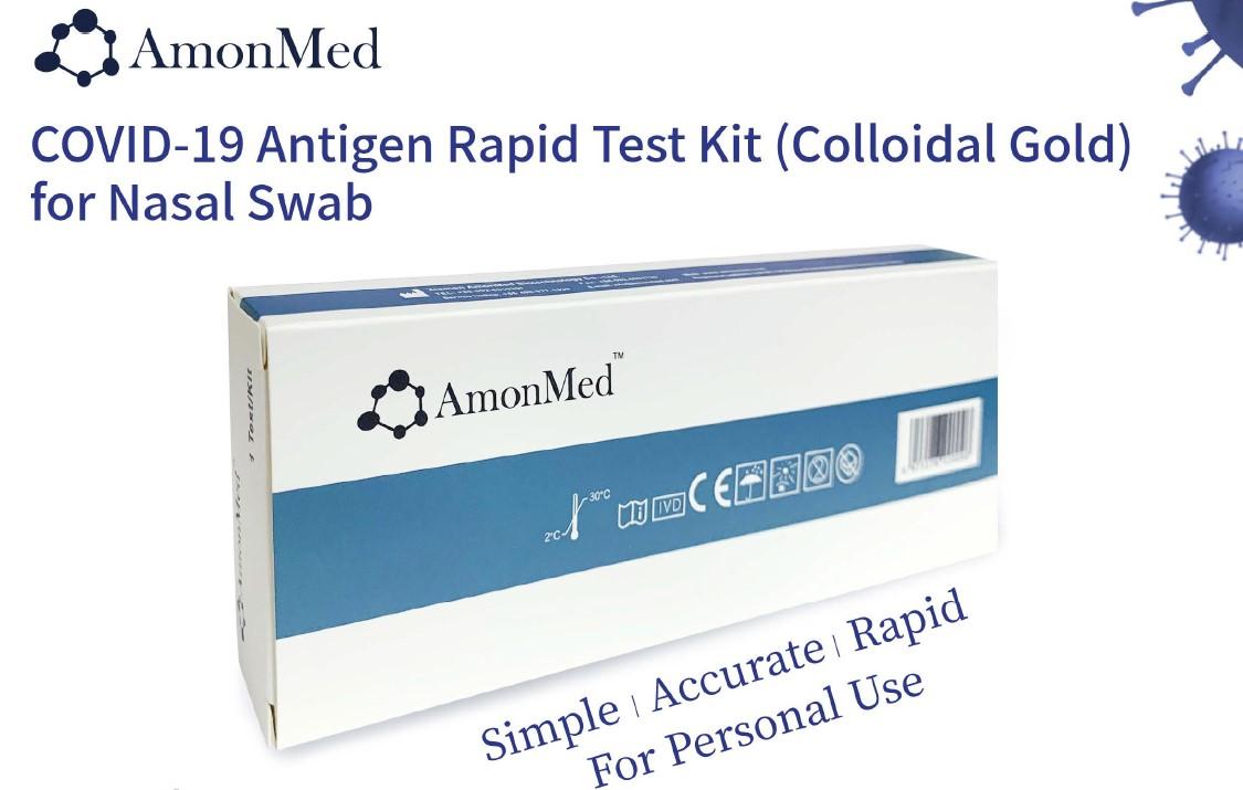 Covid-19 Antigen Rapid Test Kit 1x